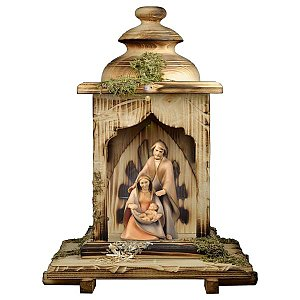 UP690LAL - Nativity The Hope - 2 Pieces + Lantern stable with