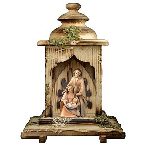 UP691LAL - Nativity The Hope - 3 Pieces + Lantern stable with