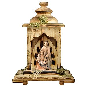UP691LAT - Nativity The Hope - 3 Pieces + Lantern stable